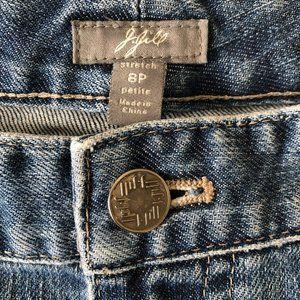 J. Jill Wide/Straight Leg Jeans!  EUC!